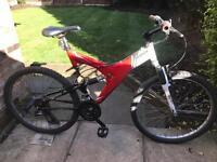 adults rockrider 3:3 mountain bike