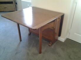 Solid Wood Gate Leg Table