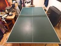 9ft Table Tennis, good condition, all works perfectly, folds away