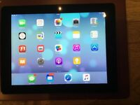 IPAD 3rd Gen Wifi and Cellular BLACK Excellent condition.