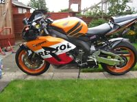 Honda CBR1000RR-5, very good condition having to sell as moved abroad, quick sale