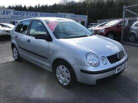 2003 VOLKSWAGEN POLO E SILVER ** LOW MILEAGE ** FULL SERVICE HISTORY ** 5 DOOR