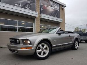 2009 Ford Mustang V6, Convertible, 72416km, Automatique, Cuir