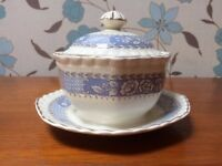 Butter dish J&G Meakin by Sol
