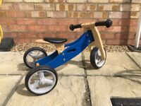 Childs 2 in 1 balance bike