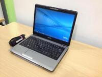 """Toshiba u400 13.3"""" Laptop with webcam"""