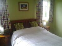 3 bedroom upper cottage flat with garden in lovely quiet area