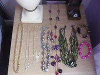 necklaces, chains.