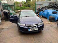 BREAKING Honda Accord SE I-CTDI 2.2 Blue door wing window glass front rear offside nearside motor