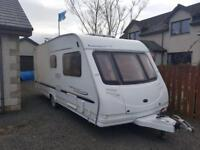 2007 sterling culmor cruach 6 berth with fixed bunk bed,