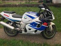 Suzuki GSXR 600cc Motorbike Supersport