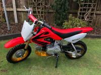 ST50 sky team child's motocross bike Crf Honda copy