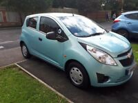 Chevrolet Spark + 1L, 5dr, £30 tax, 60mpg, petrol, blue, cheap insurance