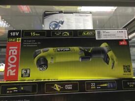 Ryobi RAD1801M 18v angle drill brand new