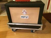 ORANGE CR120C CRUSH PRO SERIES COMBO WITH FLIGHT CASE