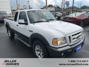 2008 Ford Ranger FX4, Leather, A/C, Tow Pkg, Bedliner