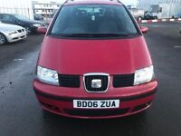 SEAT ALHAMBRA 2.0 REFERENCE TDI 5d 139 BHP (red) 2006