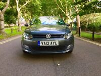 2012 Volkswagen Polo 1.4 Match DSG 5 Doors  Automatic  Very Low 11,800 Miles  Like BMW Audi Mercedes