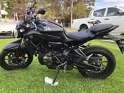 Yamaha MT-07 Motorbike Bellambi Wollongong Area Preview