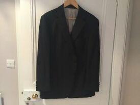 Gents black evening jacket size 46 inch chest medium