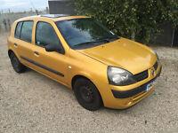 AUTOMATIC 2003 facelift Renault clio automatic 1.4 Long MOT great driver cheap auto