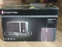 russell hobbs Silver Digital microwave oven RHM2076S