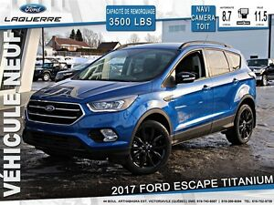2017 Ford Escape TITANIUM*99$/SEMAINE