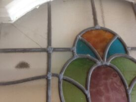 Stained Glass Door and glass panes