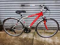 Carrera Crossfire Hybrid Bicycle For Sale in Great Riding Order