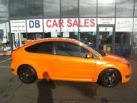 RARE !! 2007 07 FORD FOCUS 2.5 ST-3 3D 225 BHP **** GUARANTEED FINANCE **** PART EX WELCOME