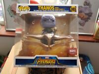 Thanos with Sanctuary 2 Funko Pop