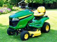 "John Deere X350 Ride On Mower - 42"" Deck & Mulch control - Lawnmower - Countax/Husqvarna"
