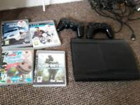 Ps3+4 games+2 controllers