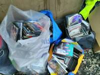 Cd disks bags and bags of all kids films and music