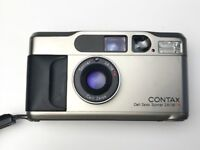Contax T2 35mm Compact Film Camera With Data Back With Original Case (SERVICED WITHIN LAST 2 WEEKS)