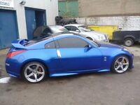 Nissan 350Z Nismo LTD Edition,3 door hatchback,UK car,FSH,full body kit,spoilers,Sports exhaust,68k