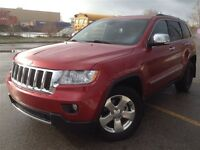 2011 Jeep Grand Cherokee Limited / 4WD HEATED STEERING/REV CAM/