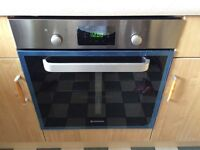HOOVER BUILT IN ELECTRIC FAN OVEN STAINLESS STEEL, LED VISION BRAND NEW