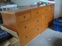 Chest of drawers. Made by G Plan in the late 80;s