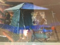 Brilliant tent gazebo awning vgc all accessories with it bargain !