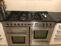 Rangemaster Cooker and Matching Extractor Fan