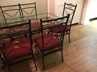 ***dining table & six chairs - bargain price***