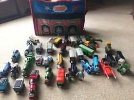 Thomas The Tank Engine wooden collection, engines, track, tunnels, turntable, Crane etc