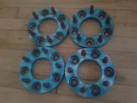 Spacers 5x114  battle club avec nut
