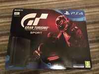PlayStation 4 with Gran Turismo Sport - brand new and unused
