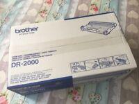 Genuine Brother Laser Printer Drum Unit DR-2000