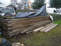 timber wood long! 3x2, 21' 6.5m long, 84 lengths, also 9x4.. 14', 12', 8'