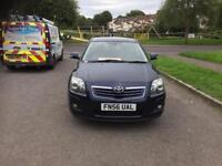 Toyota Avensis 2.0 D-4D T3-X 5dr full service history
