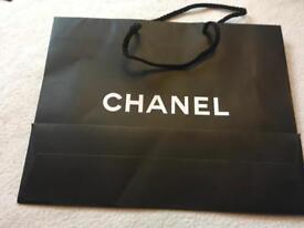 Chanel gift bag size 23x17x11cm £2