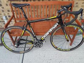 Carbon fibre Boardman road bike
